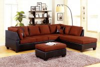 2pc sectional 499 brown