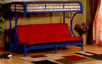 blue futon bunk 329